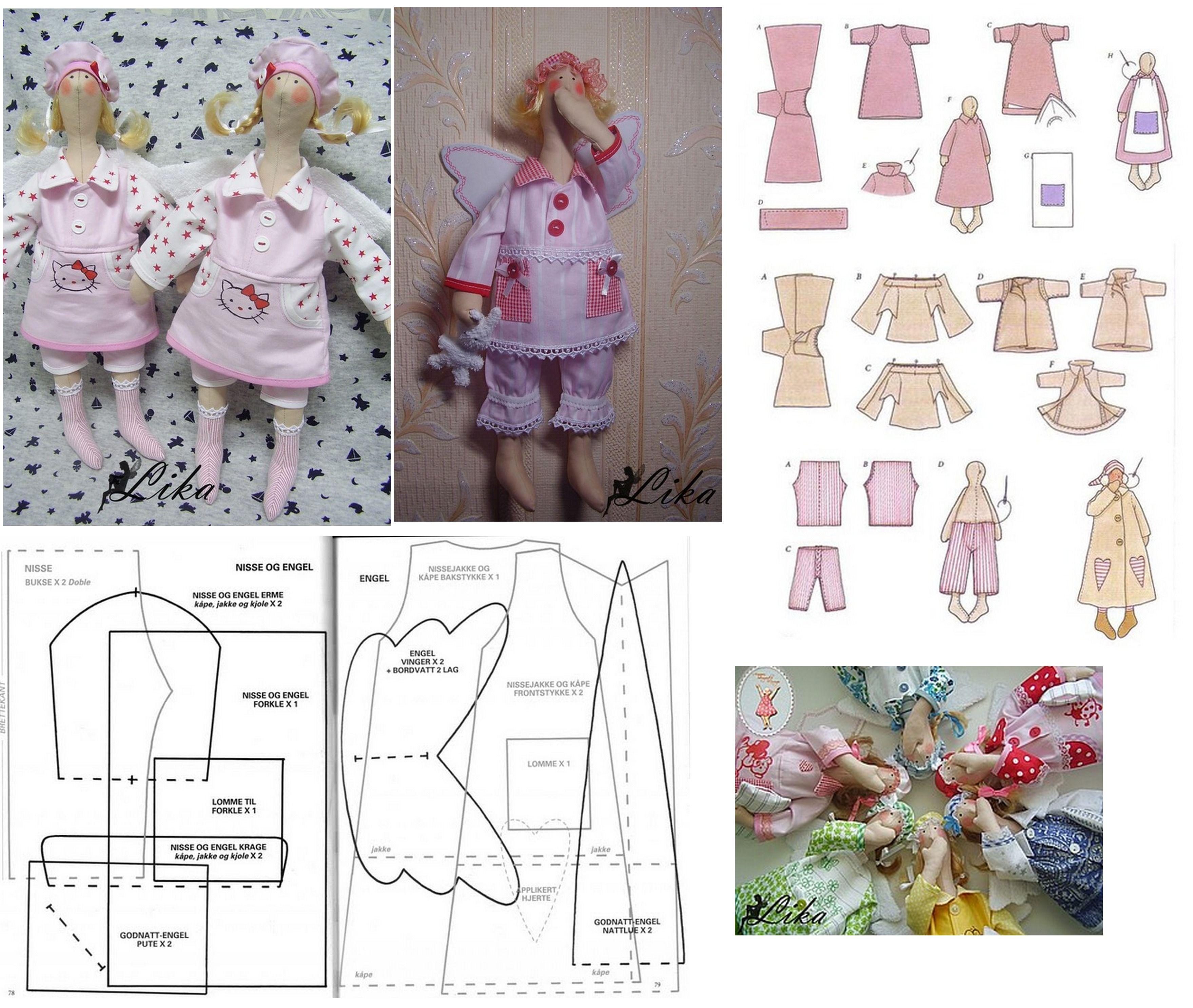 Tilda pattern, Schnittmuster | Tilda | Pinterest | Schnittmuster ...