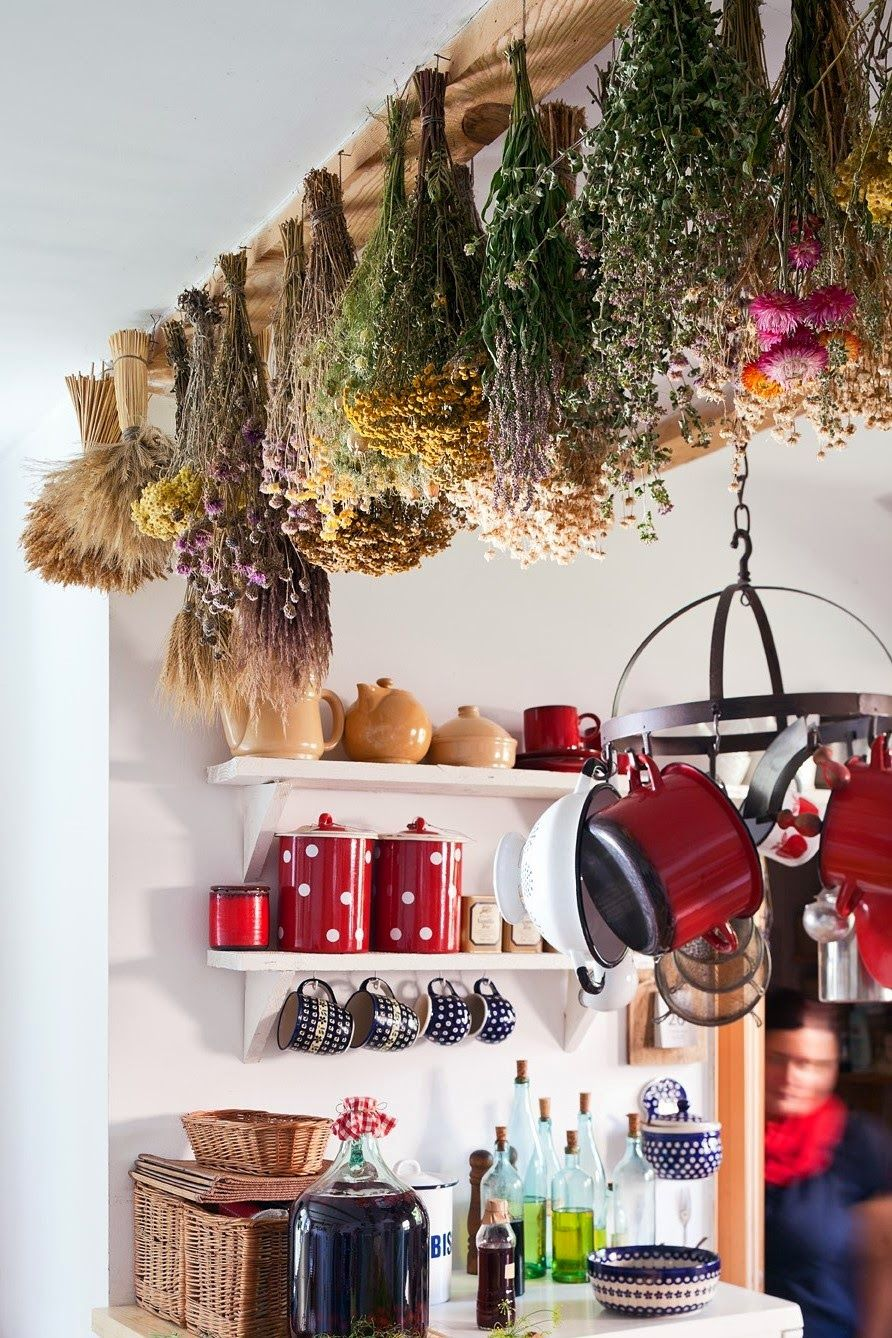w końcu mogę bohemian kitchen hanging herbs cozy house on sweet dreams for your home plants decoration precautions and options id=86783