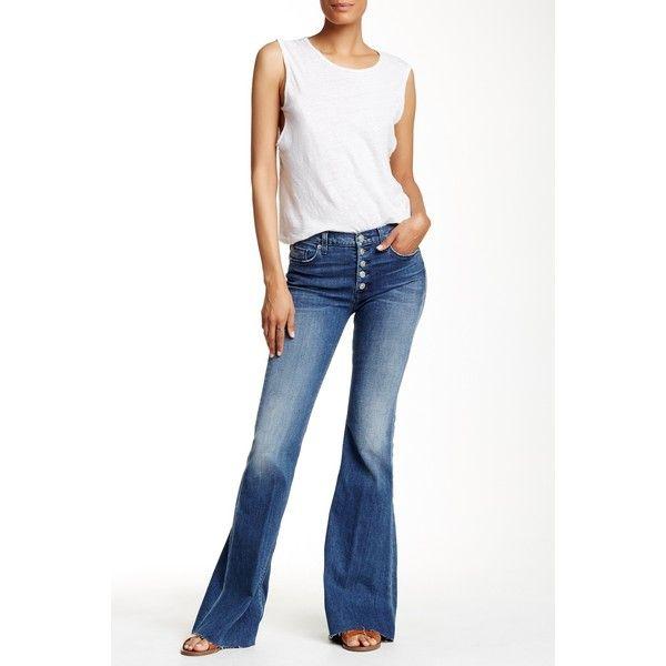 HUDSON Jeans Jodi High Waist Flare Jean ($90) ❤ liked on Polyvore ...