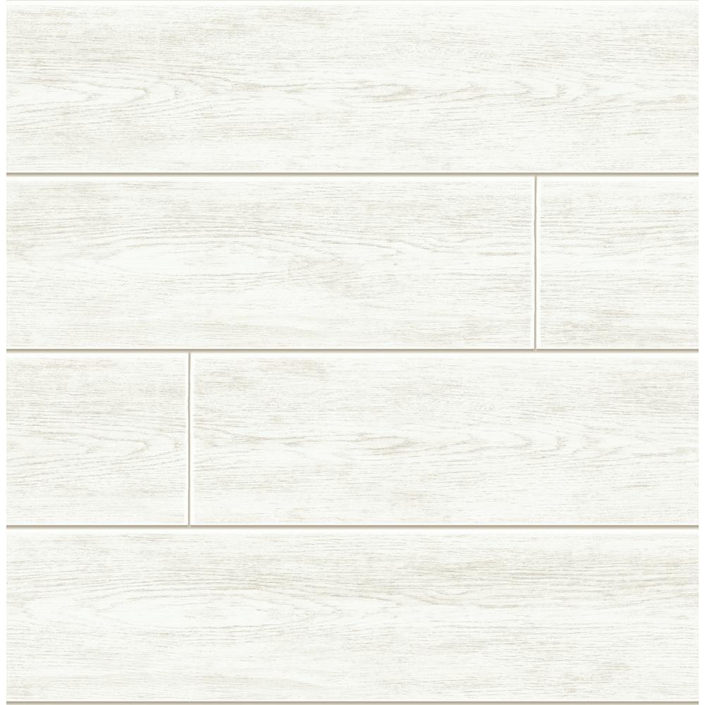 Nextwall Shiplap Vinyl Peelable Wallpaper Covers 30 75 Sq Ft Ax10900 The Home Depot Peelable Wallpaper White Shiplap Peel And Stick Wallpaper