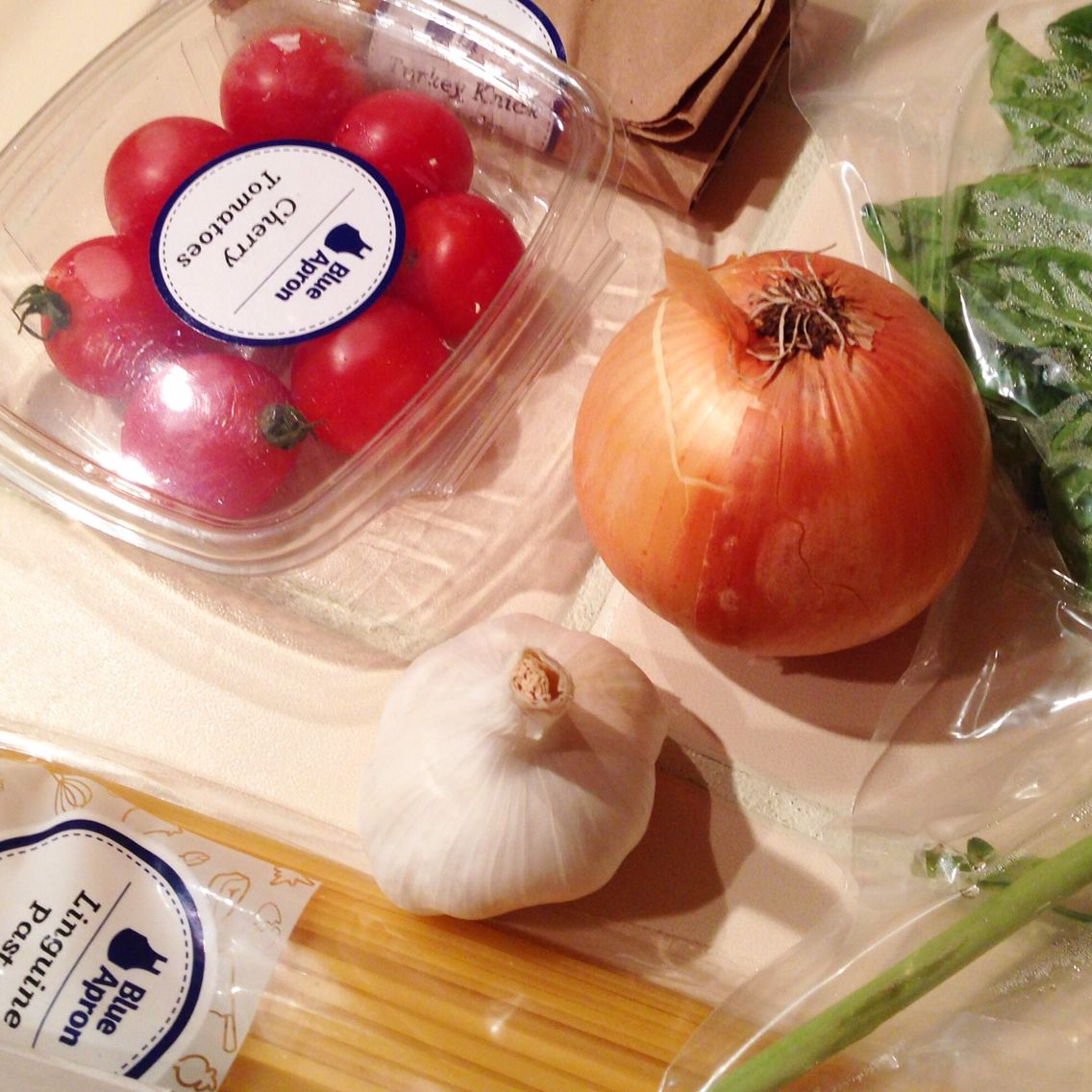 Blue apron packaging - Blue Apron Packaging