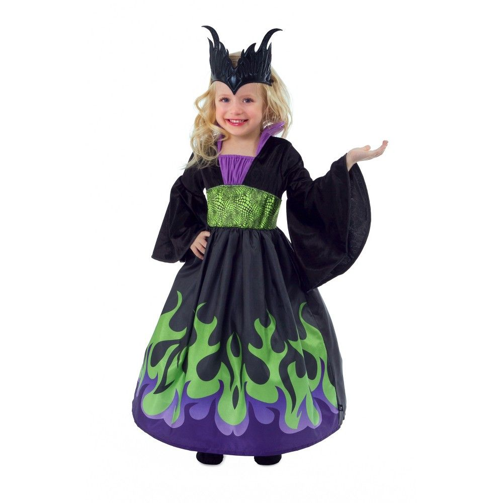 Dragon Queen with Soft Crown Doll Dress