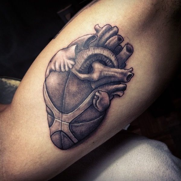 40 Basketball Tattoo Designs And Ideas For Men | General ...