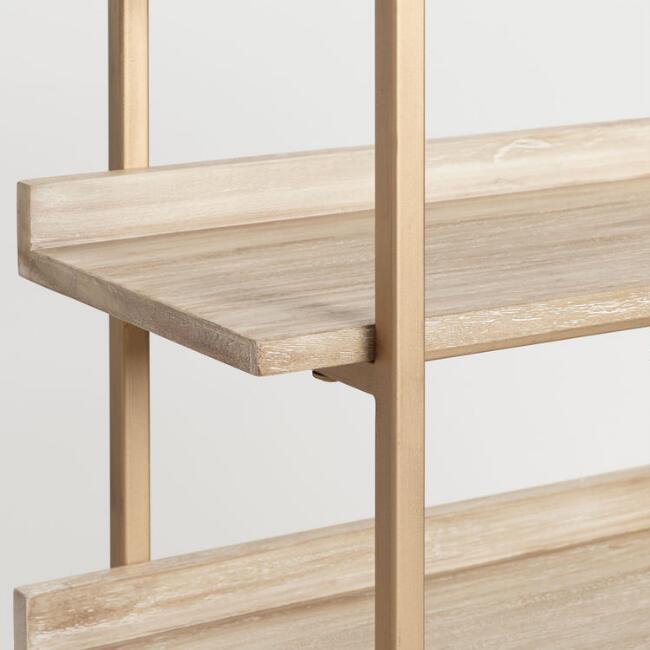 Driftwood Cristela Bookshelf V3 Bookshelves Deep Shelves