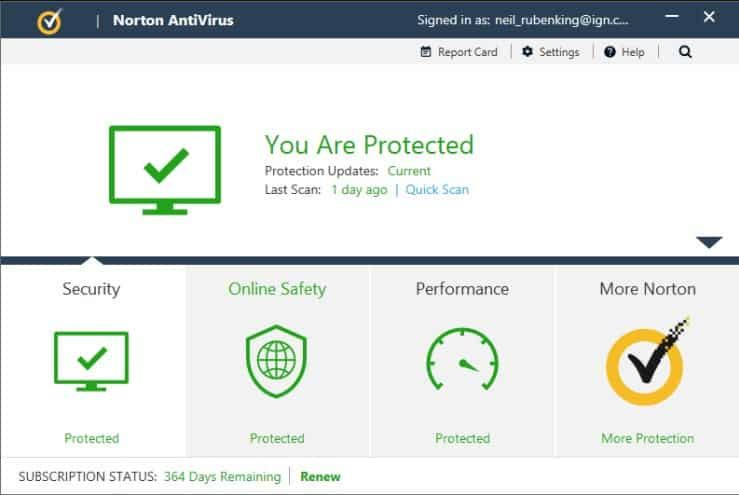Norton Antivirus Internet Security 2020 Free Download 90 Days