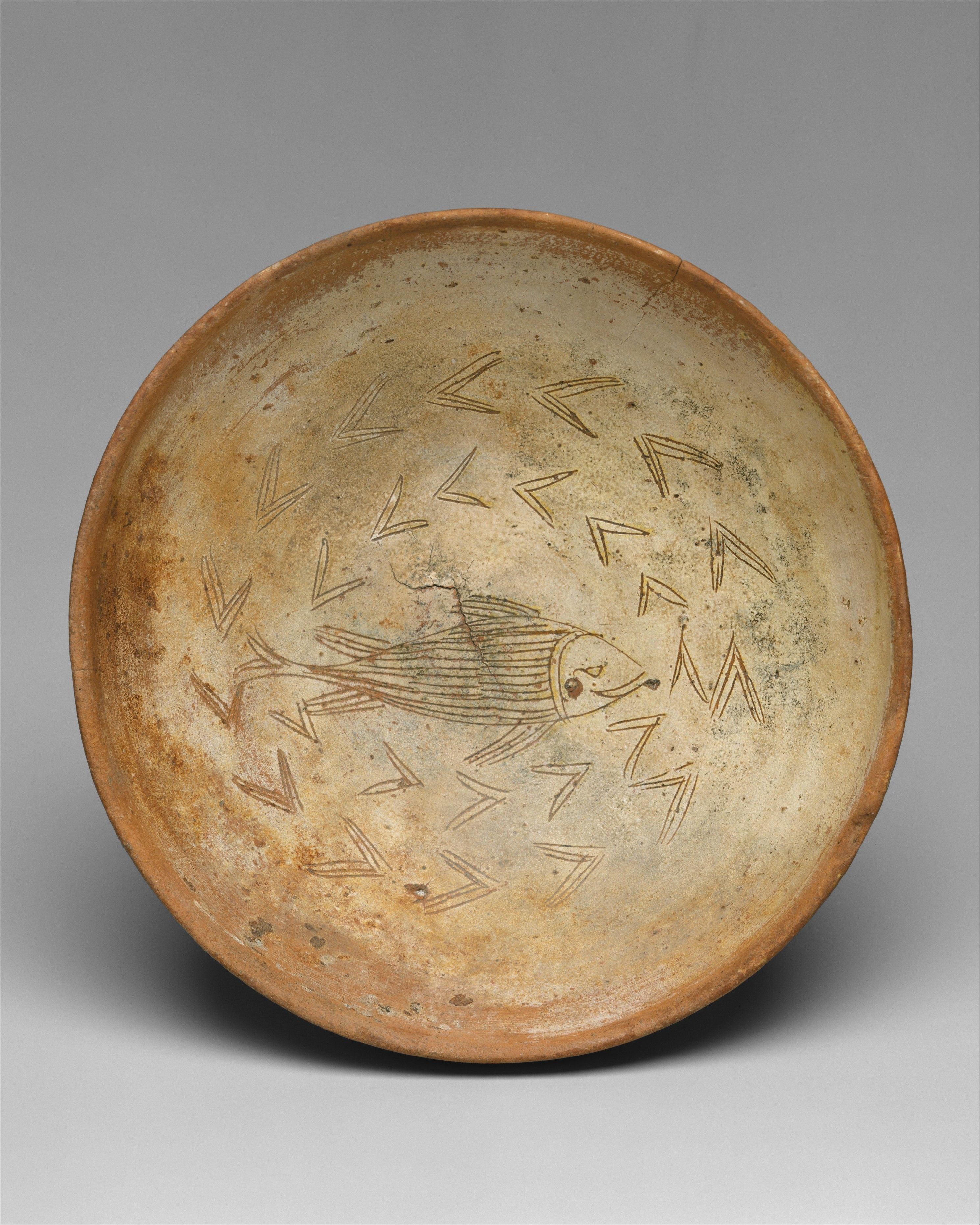 Bowl with Fish | Byzantine | The Met