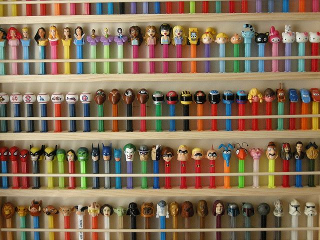 7 sights on Sunday gallery 23. Pez Collection of Jeremy Powell. define23/flickr photostream. Photo taken December 29, 2008