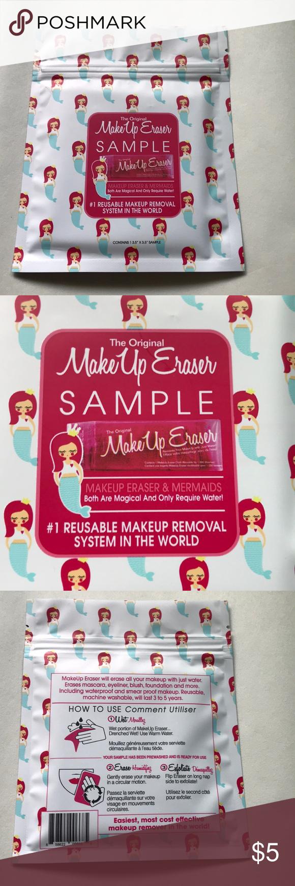 The Original Makeup Eraser Sample NWT Makeup eraser