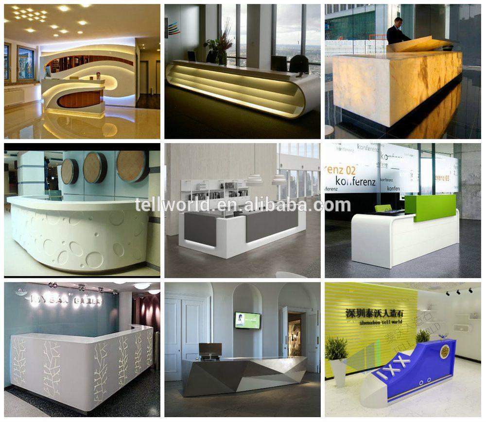 Office Furniture Modern Front Desk Simple Design Reception
