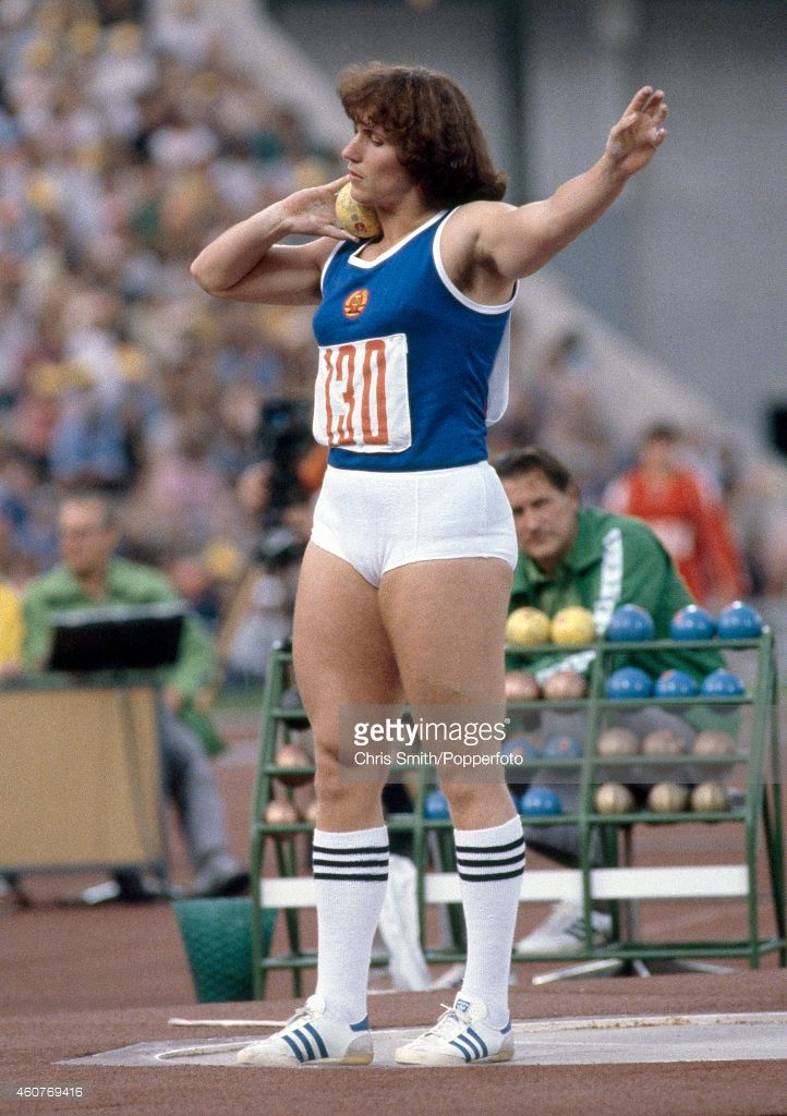 Bronze Medallist Margitta Pufe Of East Germany Prepares To Put The Summer Olympic Games Gymnastics Pictures Muscular Women