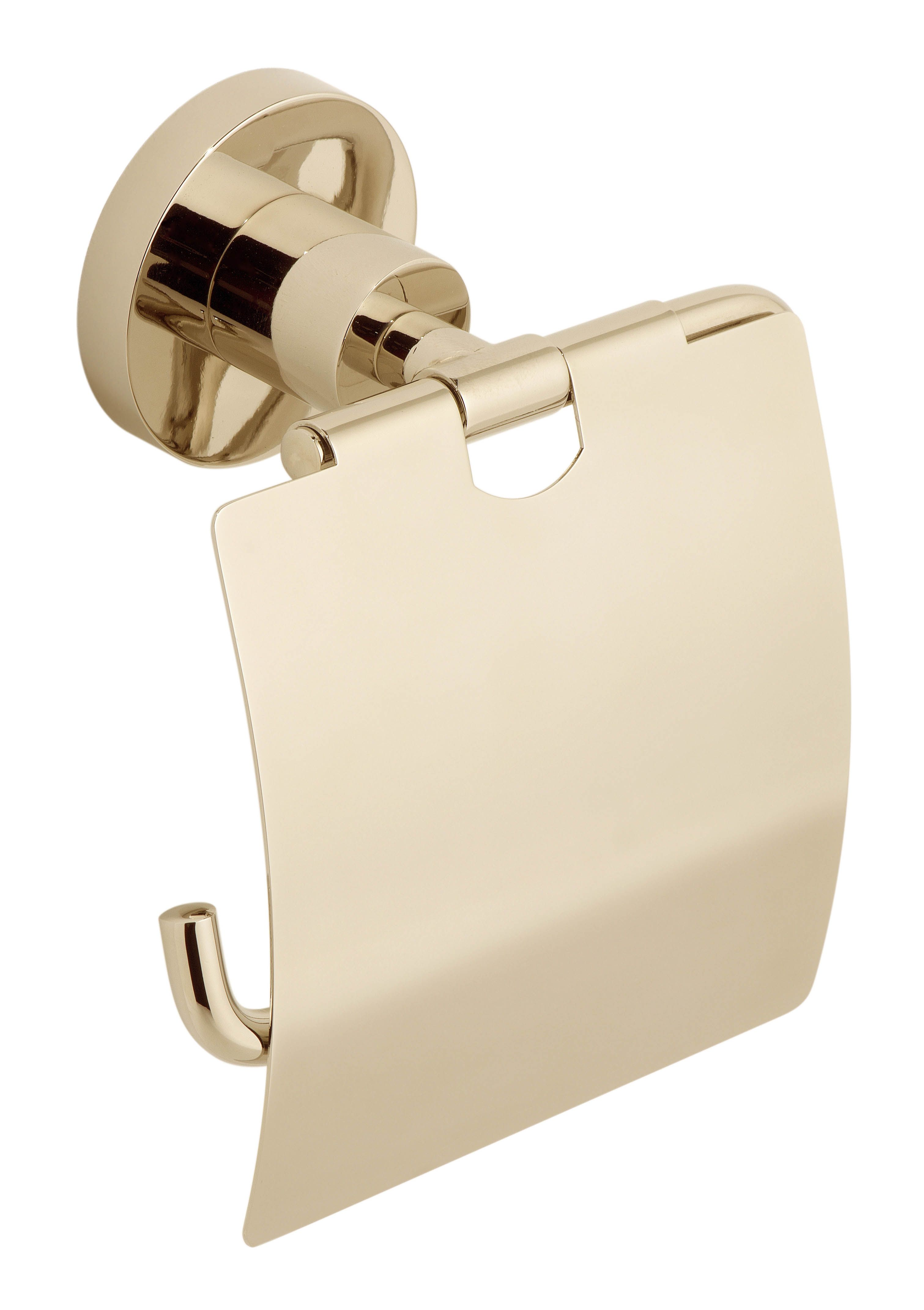 Polished gold Elements covered paper holder by VADO from the ...