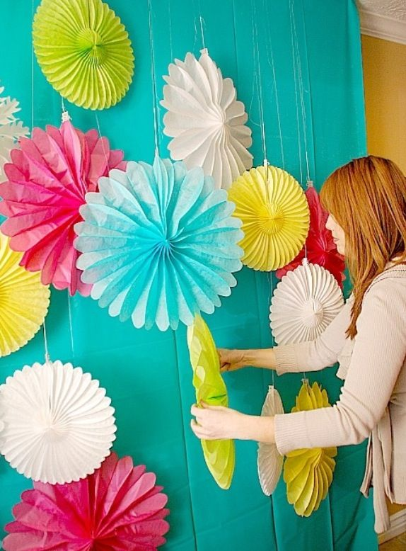 how to make a photo booth background