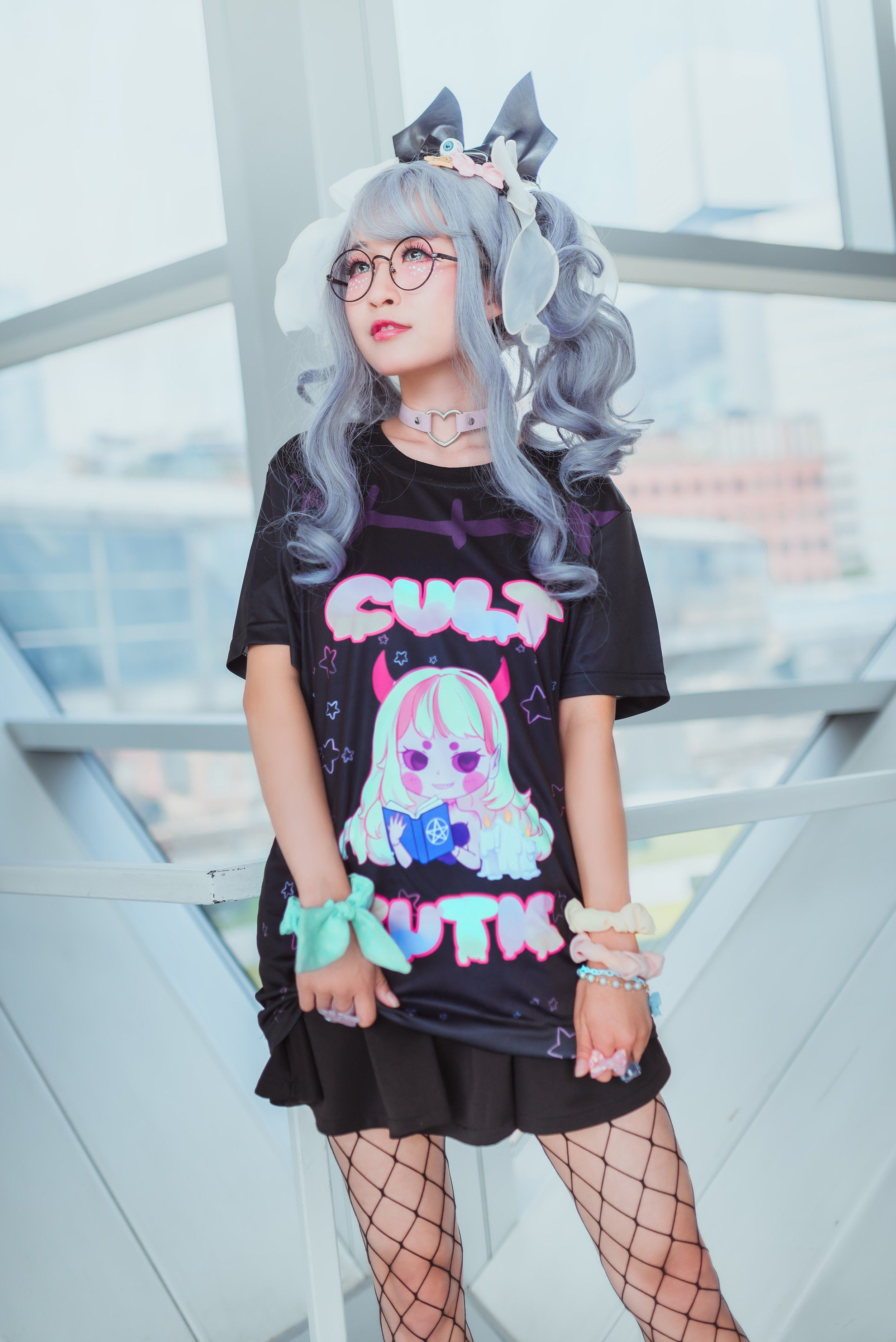 1a45e1a60 CULT CUTIE Tee by Fawnbomb Creepy Cute Yami kawaii Harajuku demon girl  Witchy Occult Pastel Goth