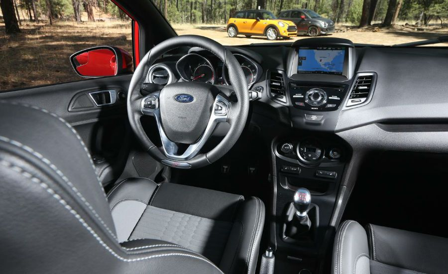 High Quality 2015 Ford Fiesta St Interior