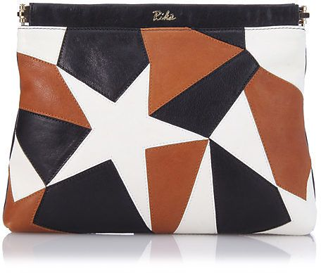 Rika リカ LINDI CLUTCH PATCHWORK / patchwork clutch on ShopStyle