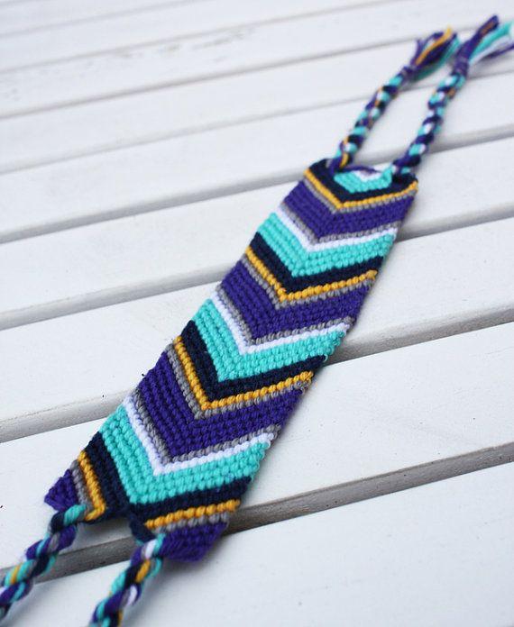 Chevron Friendship Bracelet By