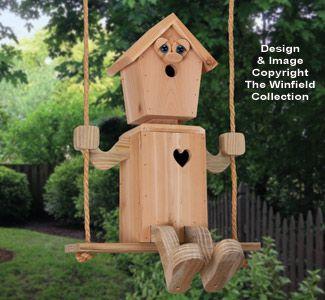 Birdhouse Wood Patterns Tree Swinger Birdhouse Pattern