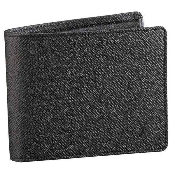 9bba45843499 Men Louis Vuitton Taiga Leather Florin Wallet Gray M31112