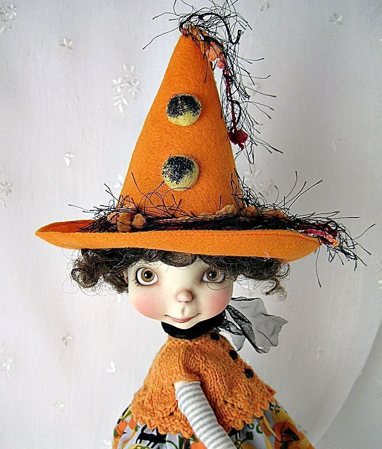 Halloween Cats Outfit for Connie Lowe Sprocket, Sprockets, made by Ulla  #ClothingAccessories
