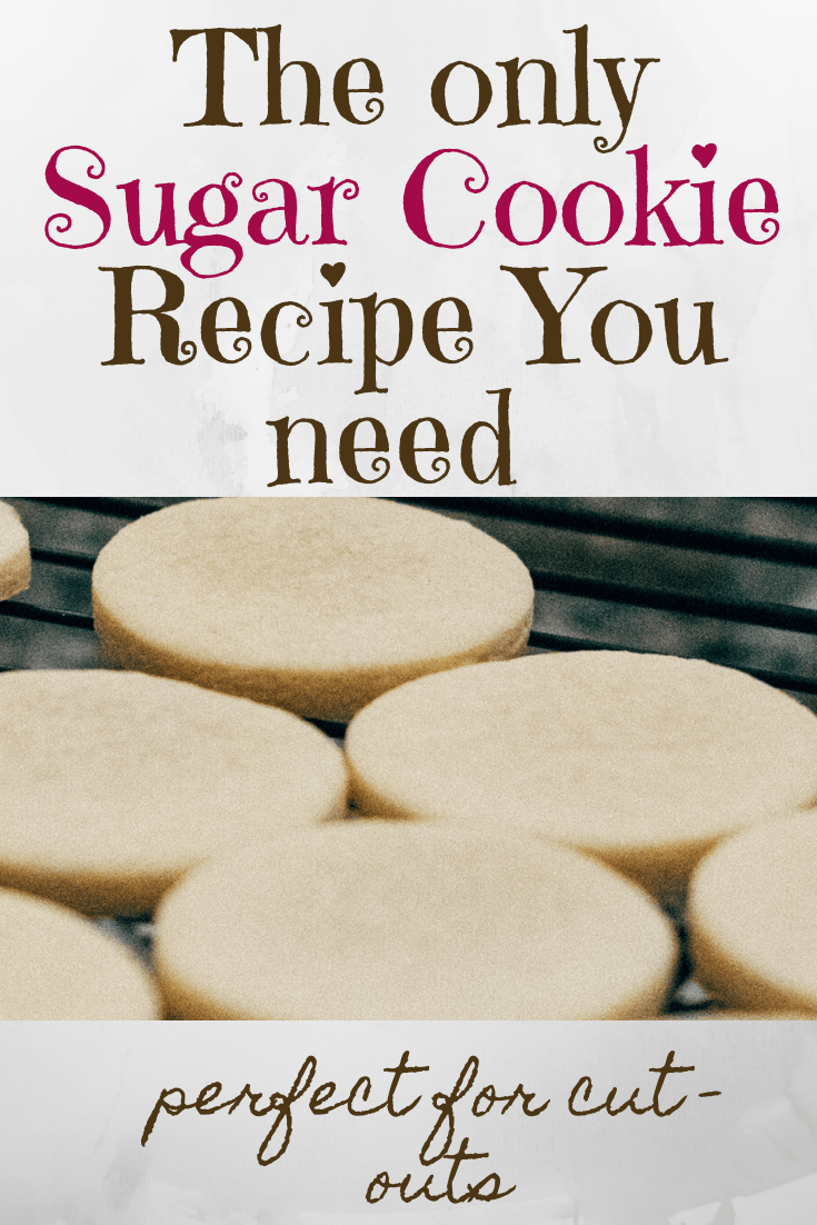 The Only Sugar Cookie Recipe You Need to Make Amazing Cut-Outs!