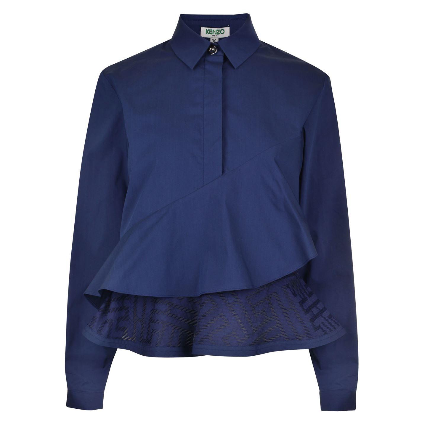 Kenzo | Jacquard Asymmetric Shirt