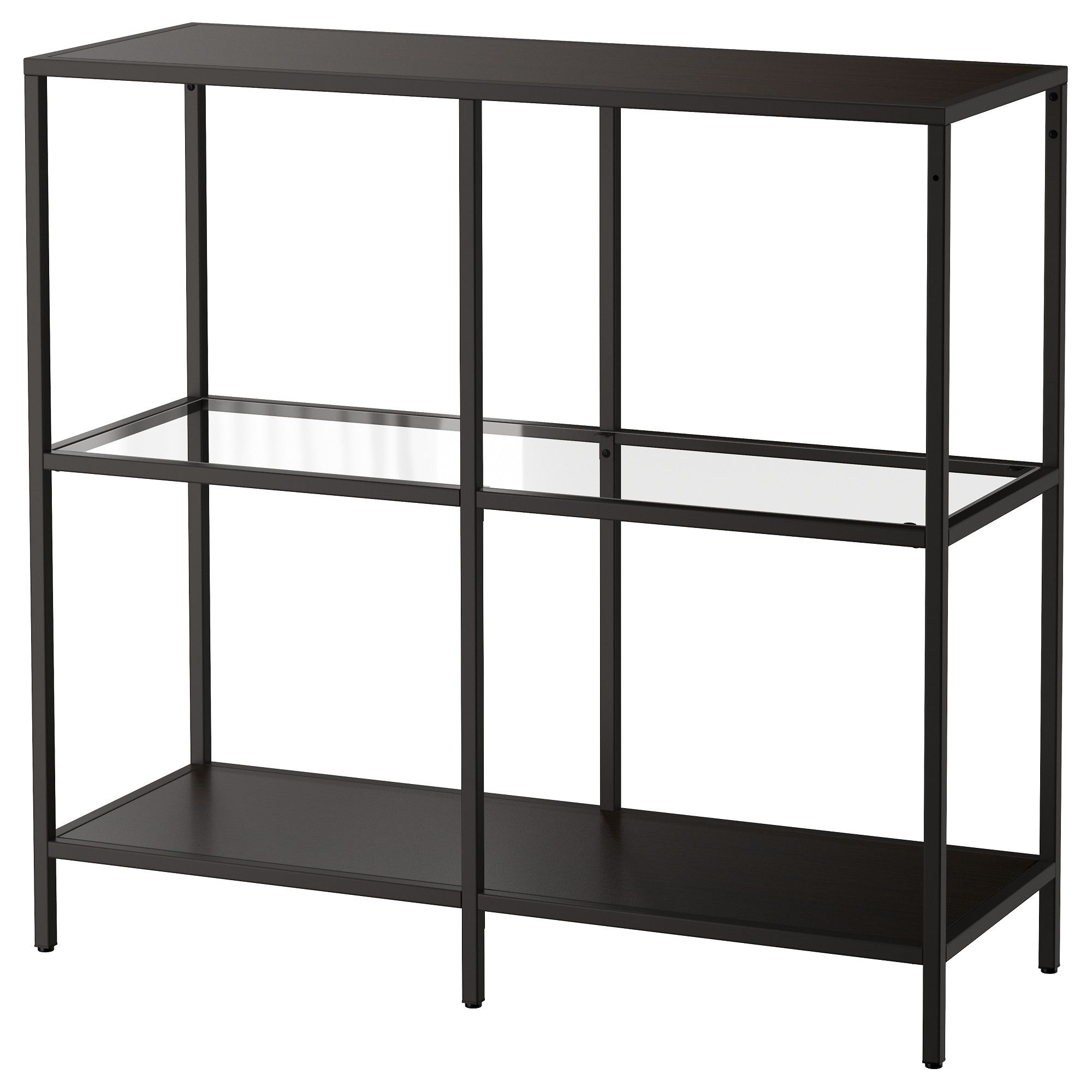 ikea regal metall glas. Black Bedroom Furniture Sets. Home Design Ideas