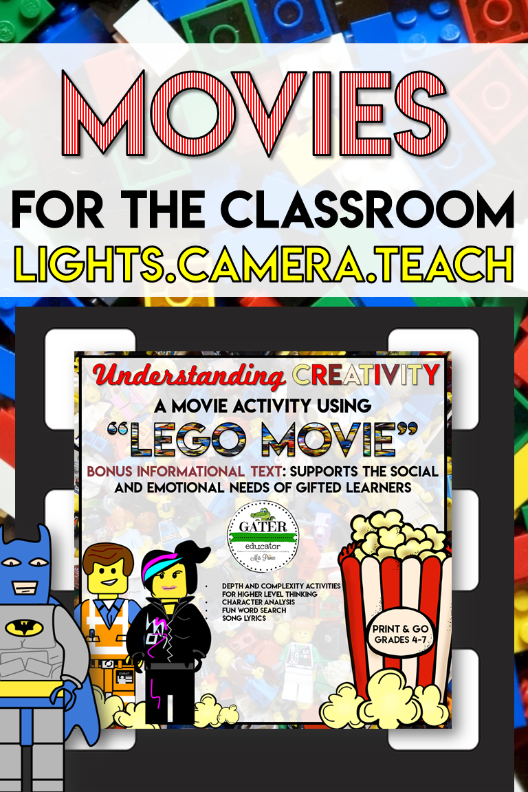 When Social And Emotional Learning Is >> Social Emotional Learning Activities Movie Guide Lego