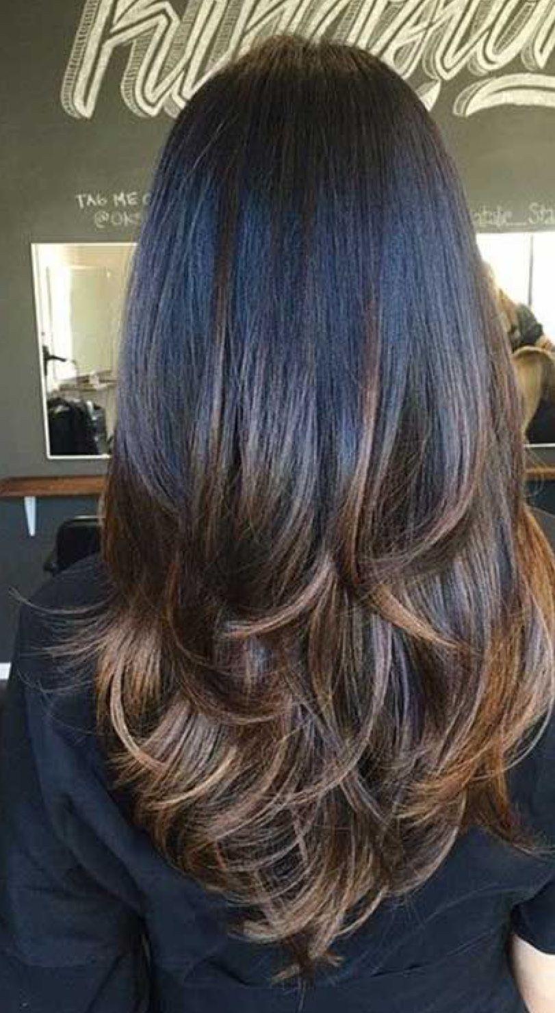 31+ Long layered brown hair inspirations