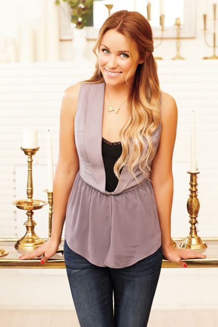 LC Lauren Conrad chiffon peplum vest  $44  Sizes: xxs-xl  shark, maple sugar  Month available: february     LC Lauren Conrad slim boot jean  $60  Sizes: 2-16  dark wash, medium wash  Month available:     LC Lauren Conrad necklace  $20  gold tone  Month available: february