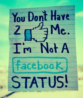 Oh Yeah Im Not A Fb Status I Dont Care If U Thumbs Up Me Facebook Status Quotes Facebook Quotes Status Quotes