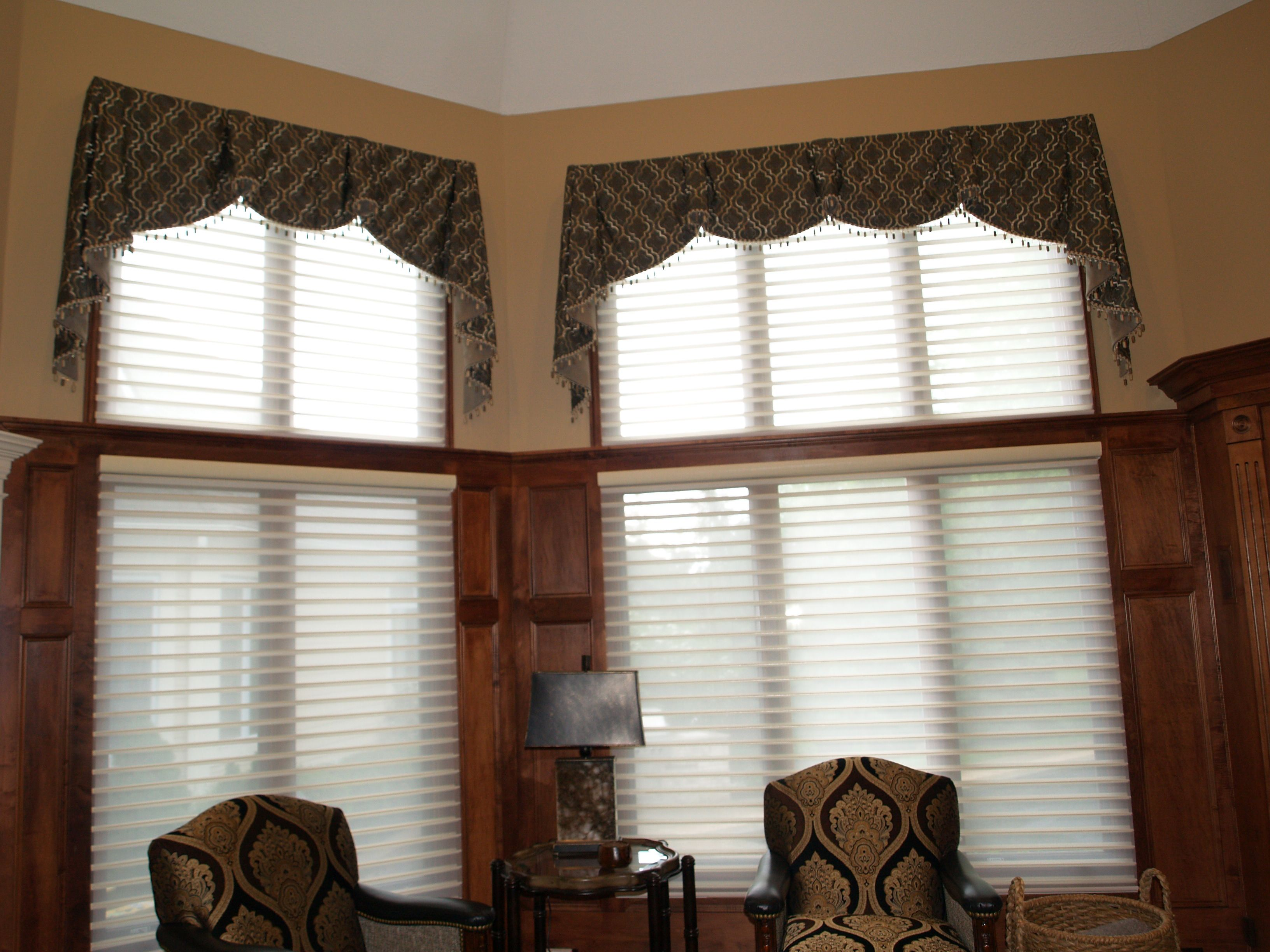 Pin By Well Dressed Windows On Inspirations Valances Valance Cleveland Heights Windows