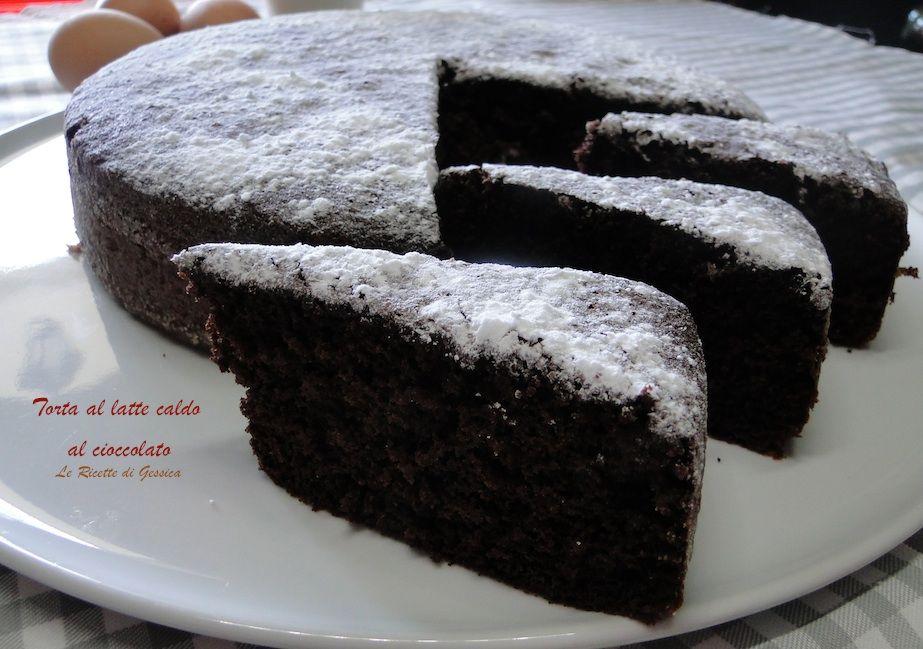 Ricetta torta al cioccolato a latte