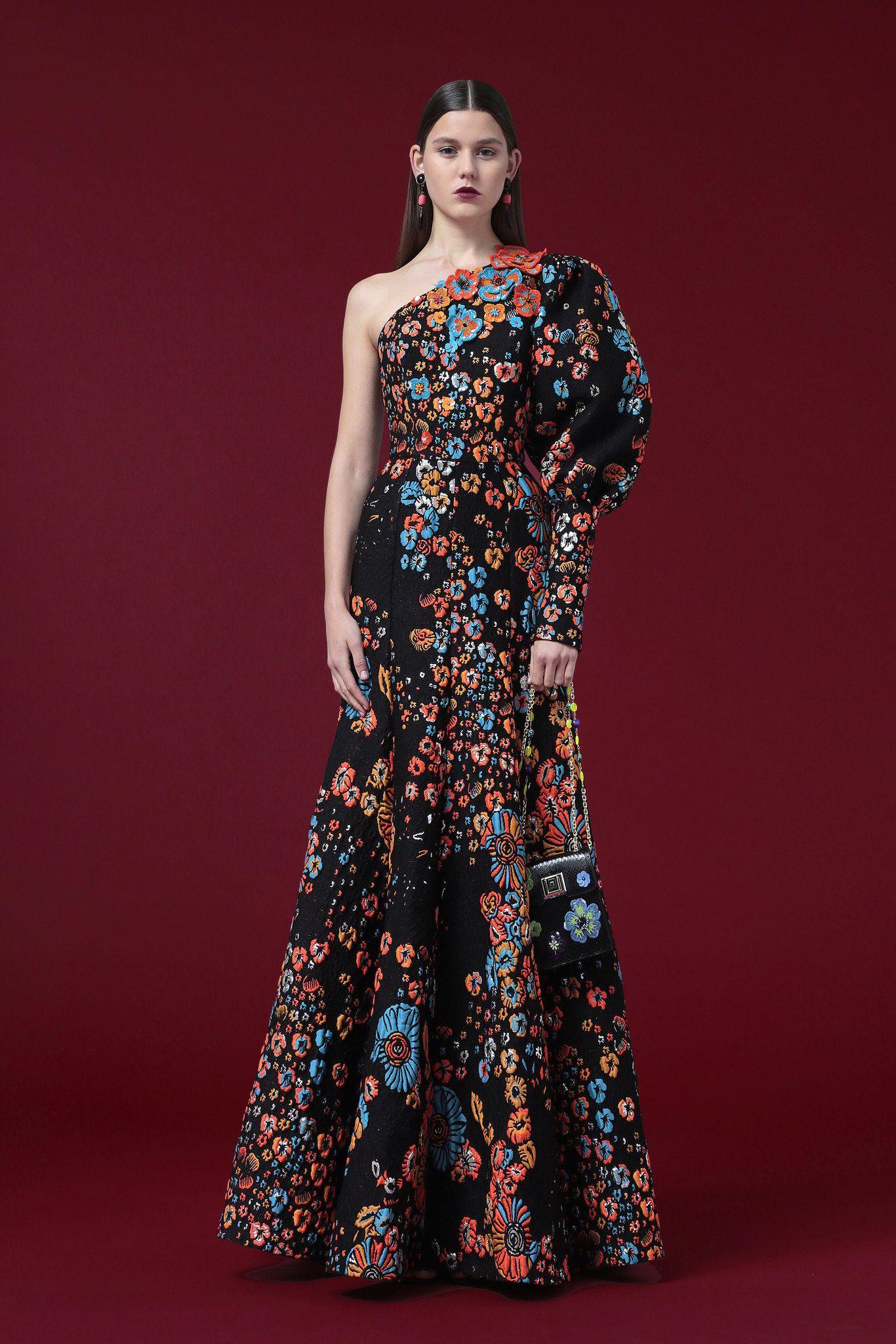 Andrew Gn Pre-Fall 2012 Fashion Show | Наряды, Черная