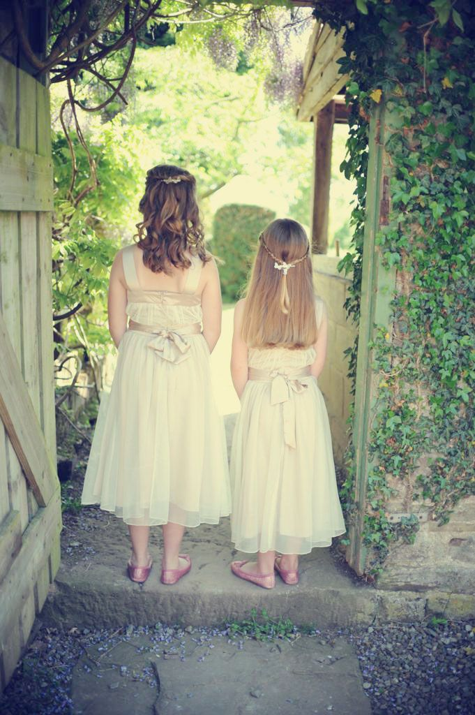350030a3d8ad Flower girl dresses in nude - another bargain from .......Matalan ...