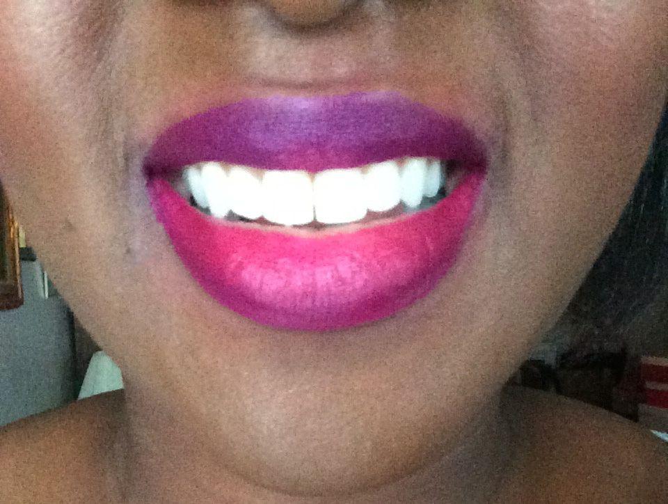 NYX Soft Matte Lip Cream Swatches On Dark Skin   Kizzy ...  Nyx Matte Lipstick Sierra Dark Skin