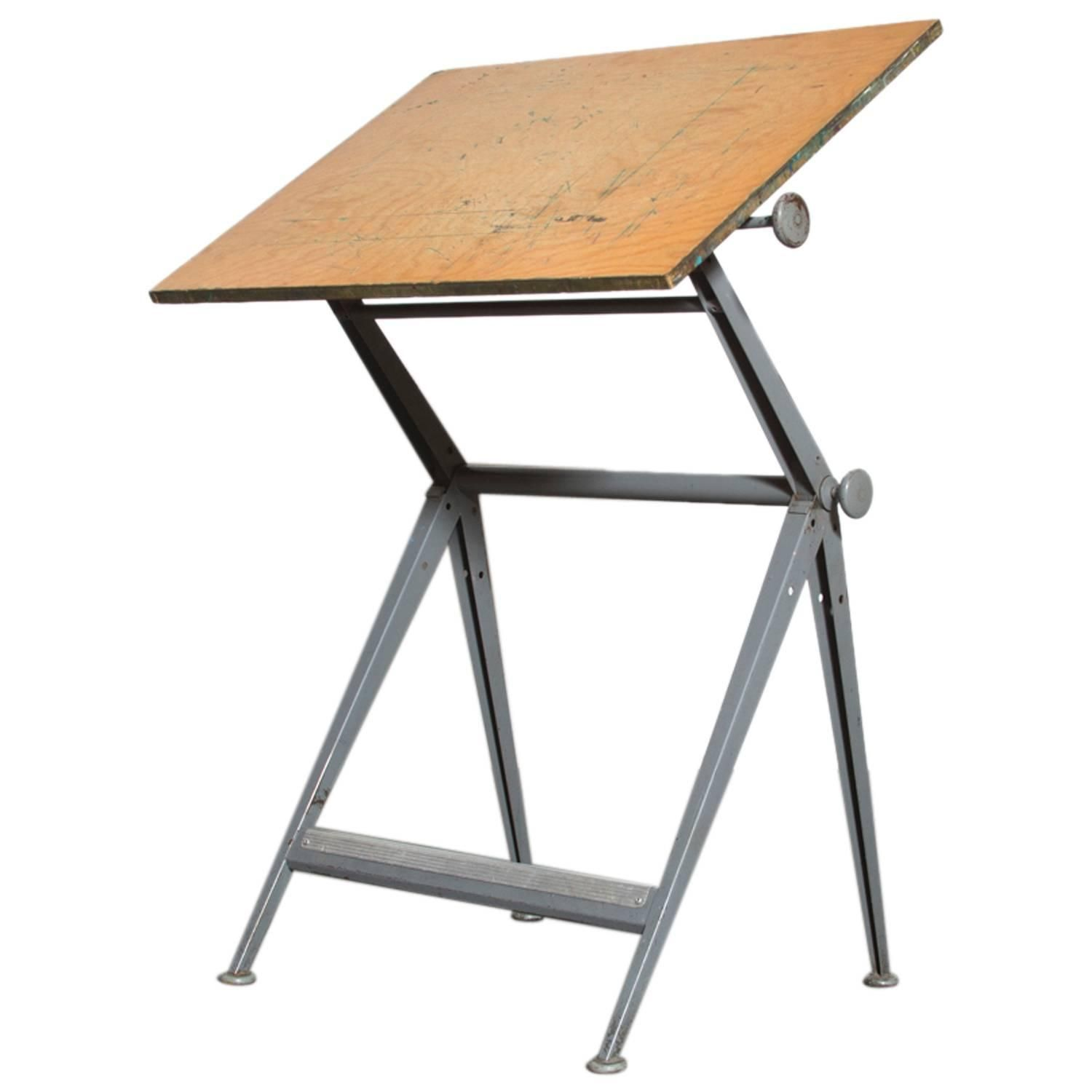 tables drafting old dark table homesfeed wooden