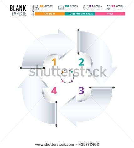 Diagram Template Organization Chart Template Flow Template Blank