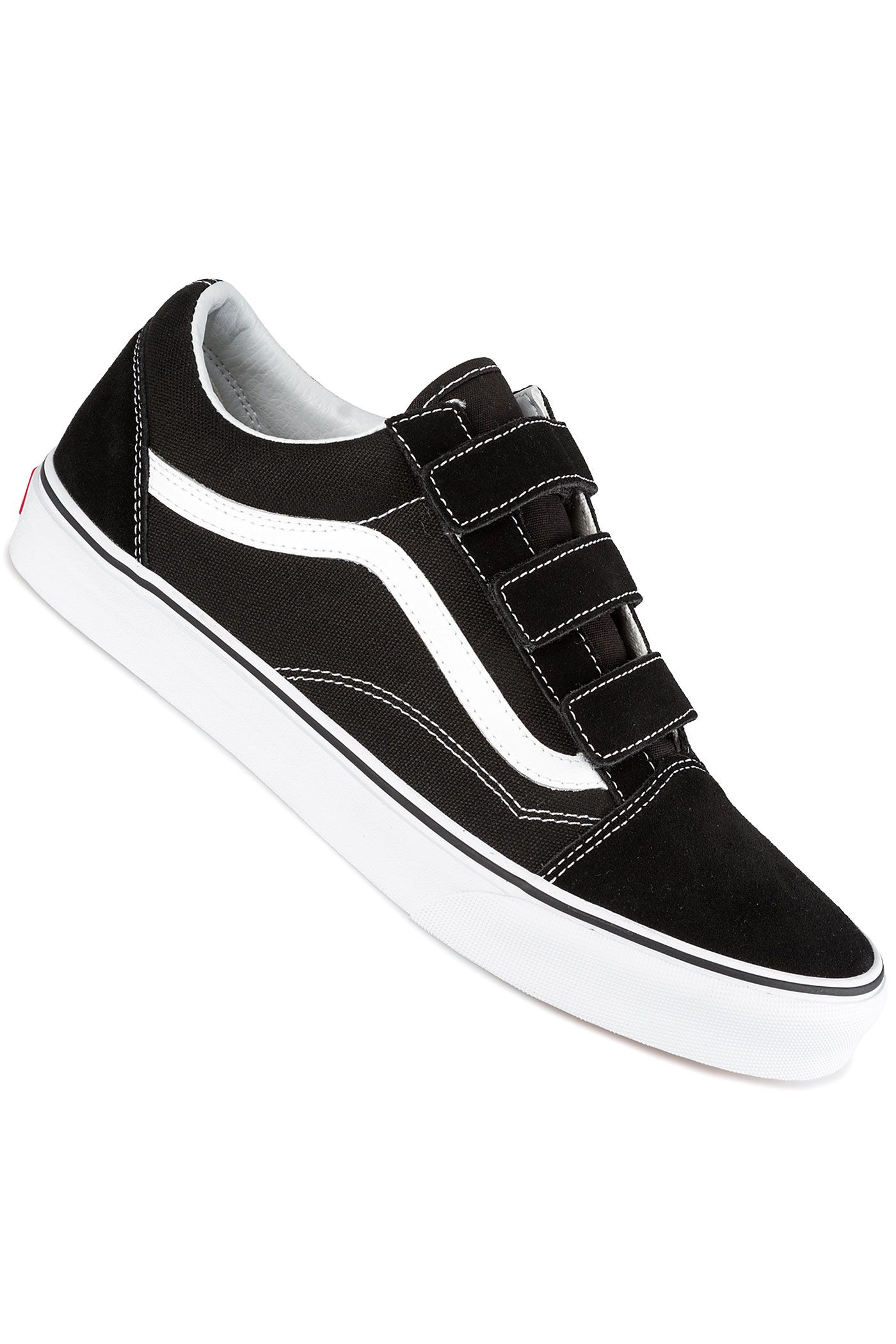 Vans Old Skool V Schuh (black true white)