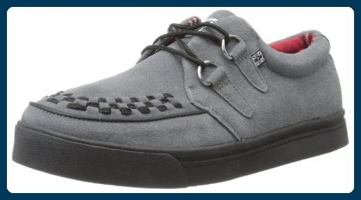 T.u.k. A7691, Unisex-Erwachsene Sneakers, Grau (Gris (Grey Suede/Blackbones