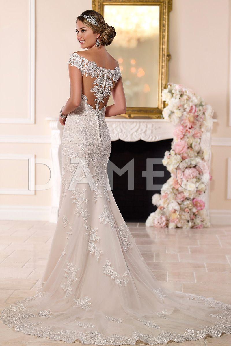 Brautkleid mit spitze eng