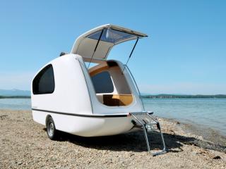der schwimmcaravan the swimming caravan sealander der schwimmcaravan the. Black Bedroom Furniture Sets. Home Design Ideas