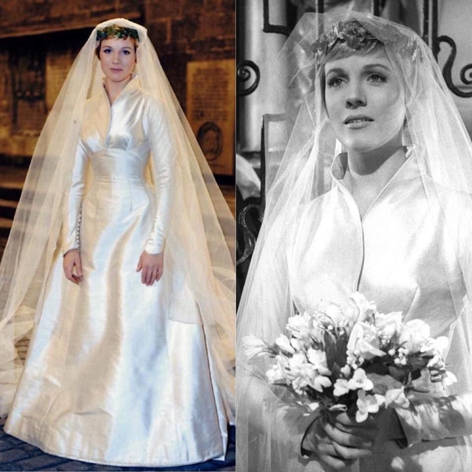 Sound of Music trivia: The wedding dress of the real Maria von Trapp ...