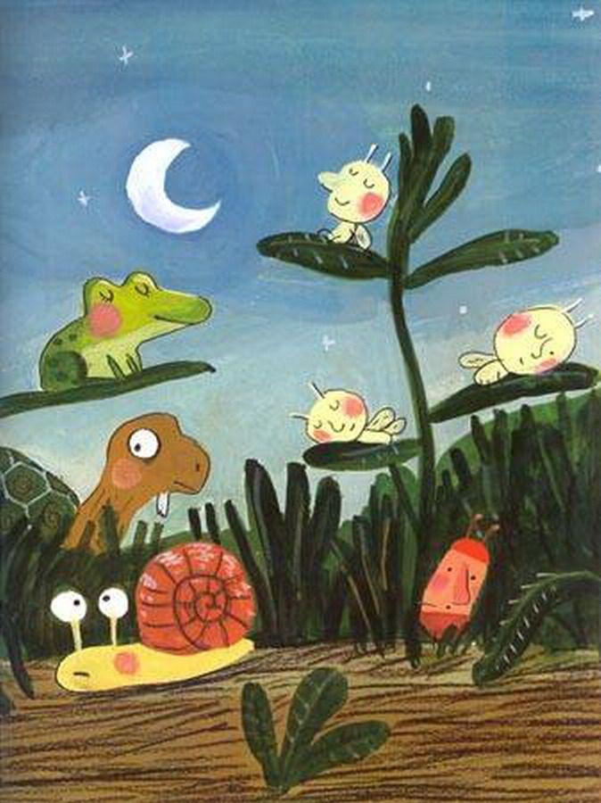 La Noche En El Bosque Con Los Amigos Del Elefante Pomelo