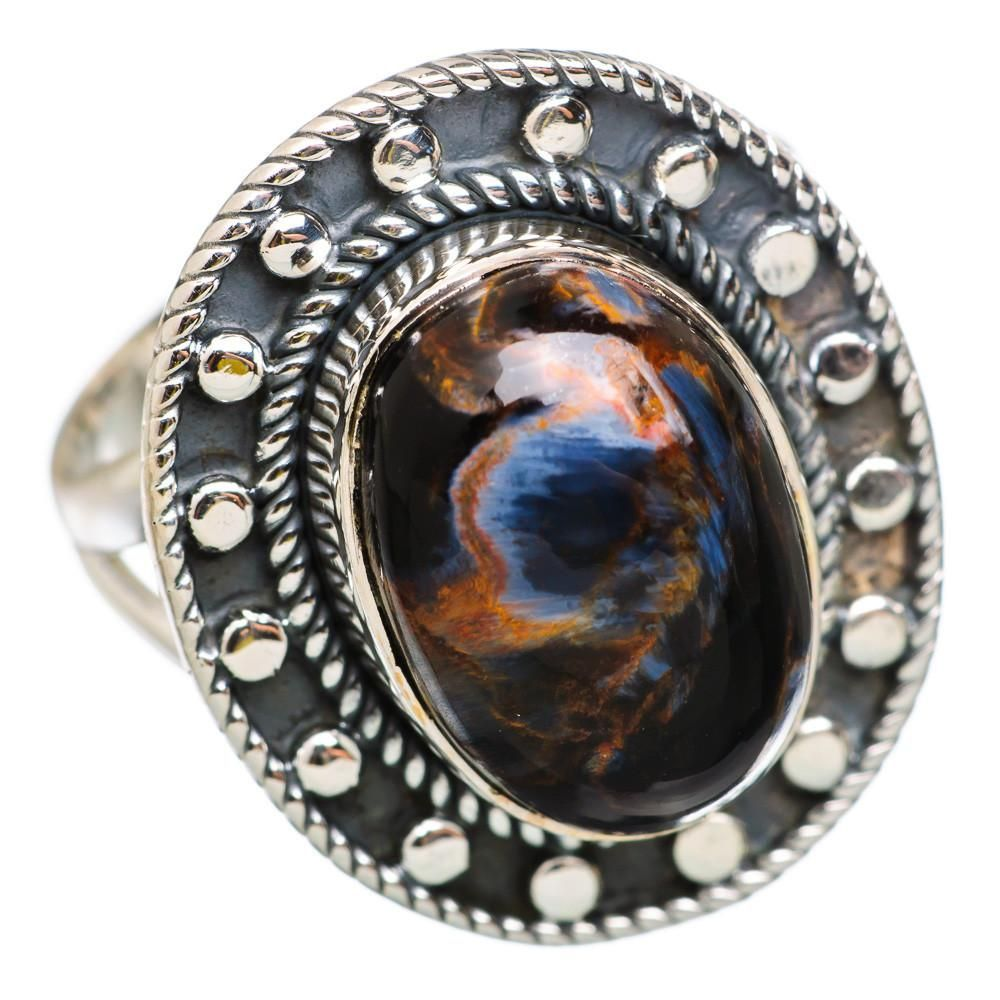 pin and ring pietersite silver men sterling kohl rings s