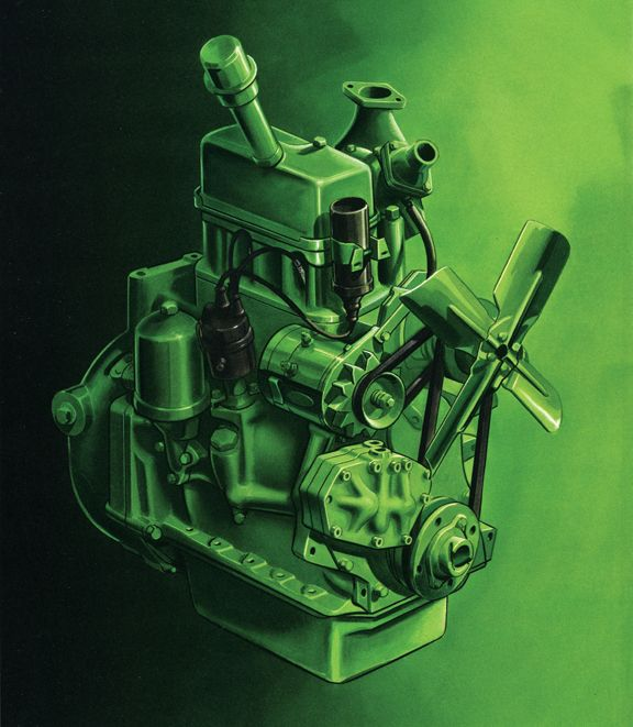 20 Interesting Facts You May Not Know About John Deere Diesel – John Deere Model 50 Engine Diagram