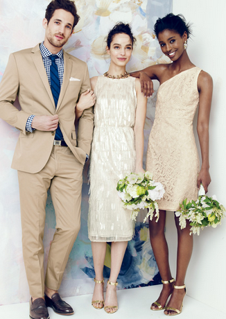 Pin By Angie Frank On Couples Him And Her Jcrew Wedding Wedding Party Dresses Beaded Fringe Dress