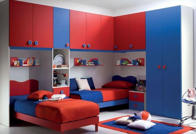 Cuarto infantil niño 26 opciones coloridas | Habitación para ...