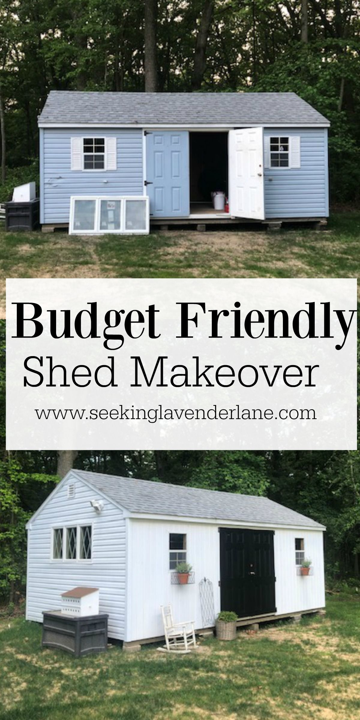 Shed Makeover Painting Vinyl Siding Seeking Lavender Lane Shed Makeover Painting Vinyl Siding Shed
