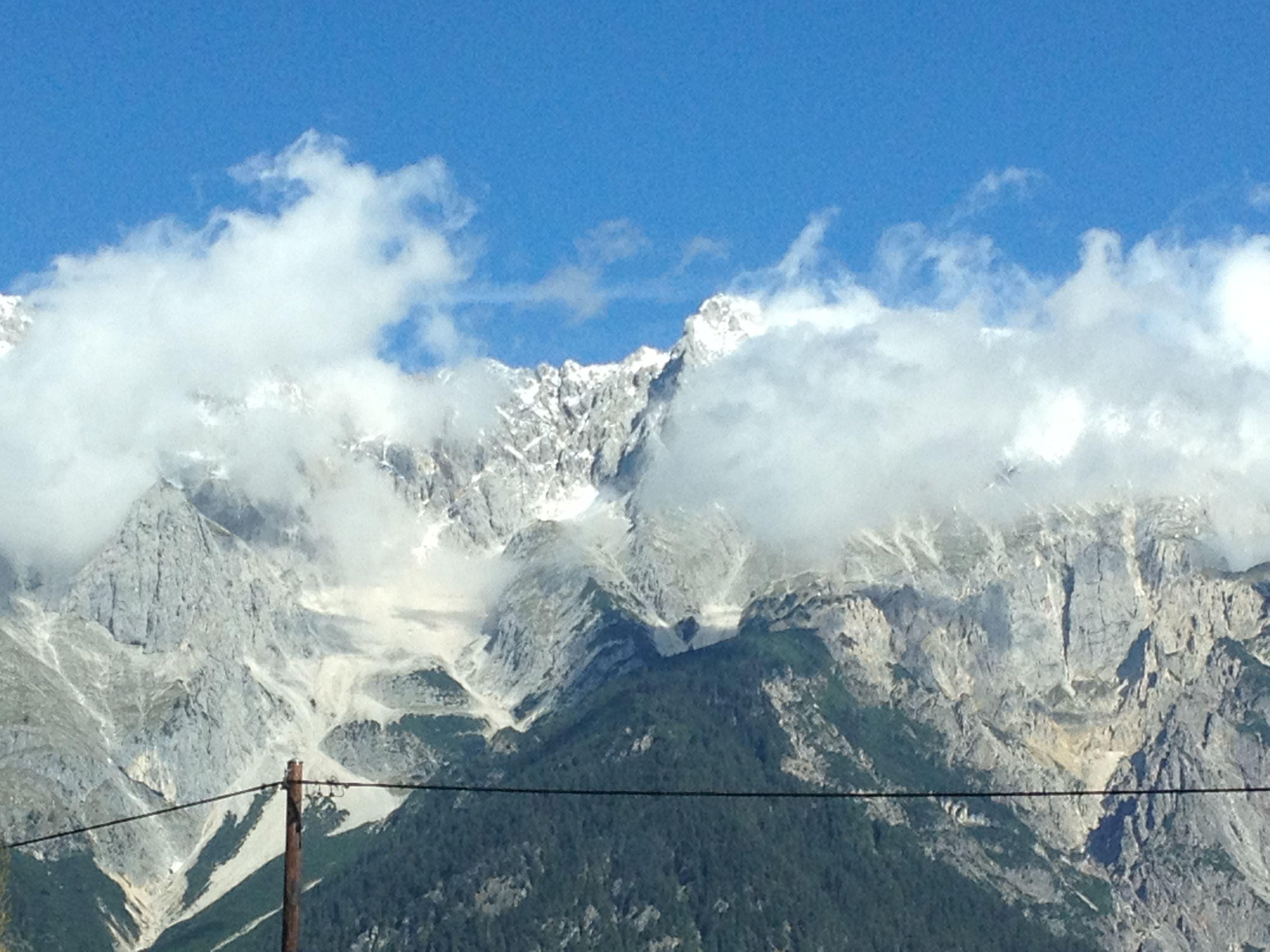 Sneeuwtoppen Oostenrijk