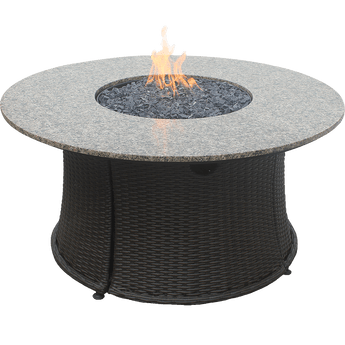 Endless Summer Lp Gas Outdoor Fire Table With Wood Look Resin Sylvane Propane Fire Pit Table Propane Fire Pit Gas Fire Pit Table